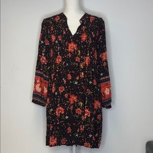 Old Navy Fall Dress Size Small Long Sleeve